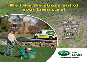 Scotts Lawn Service - Direct Mail Post Card