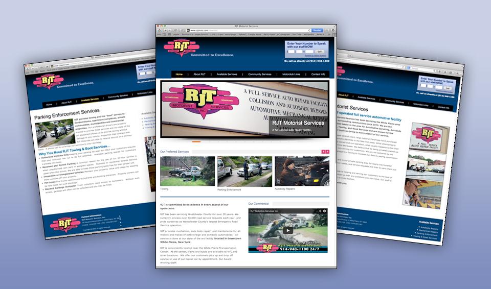 RJT Auto Services - Web Site