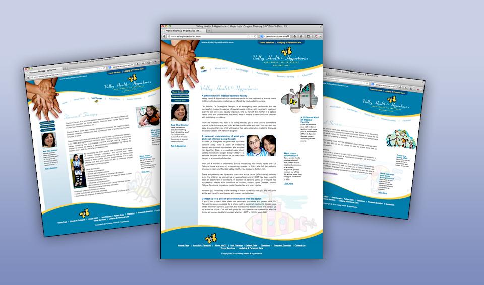 Valley Health & Hyperbarics - Web Site
