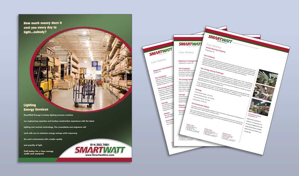 SmartWatt Energy Services - Print Materials