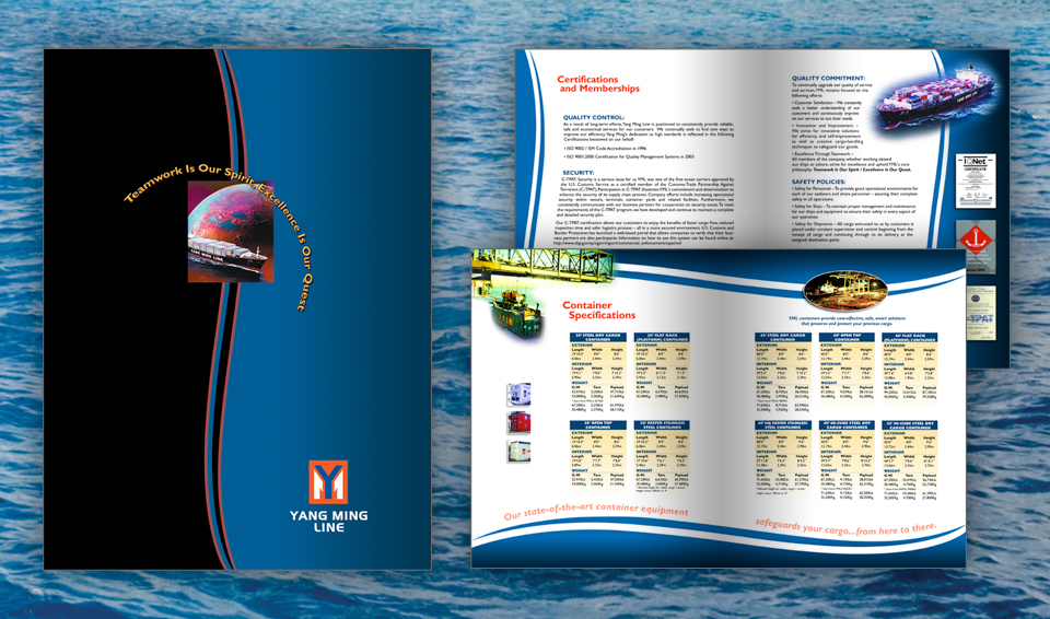 Yang Ming Line - Print Materials