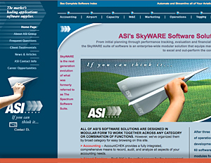 Aviation Software - Web Site