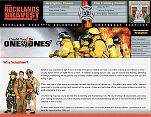 Rockland County Volunteer Firefighters - Informational Web Site