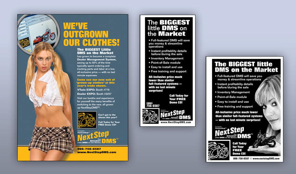 NextStepDMS Software - Advertising