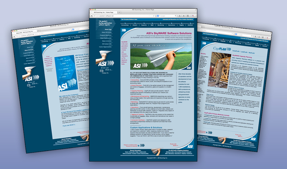 Aviation Software - Web Site